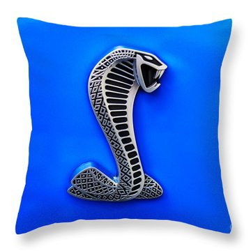The Shelby Snake Throw Pillow