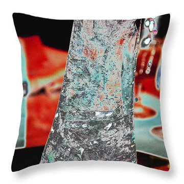 The Sherrye Vase 2011 Throw Pillow