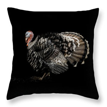 The Showman Throw Pillow
