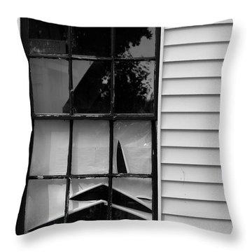 The Shredded Shade Throw Pillow