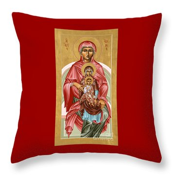 The Shrine Of St Anne 058 Throw Pillow