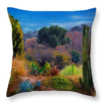 The Sierra Madre Throw Pillow