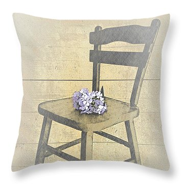The Sign Of A New Beginning Throw Pillow