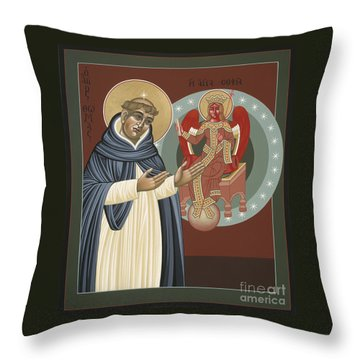 The Silence Of St Thomas Aquinas 097 Throw Pillow
