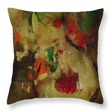 The Silent Lamb Throw Pillow