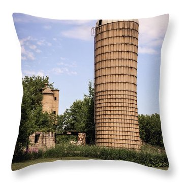 The Silo Throw Pillow