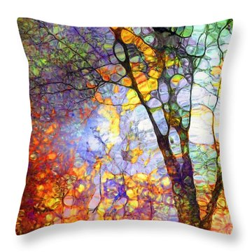 The Simple Tree Throw Pillow