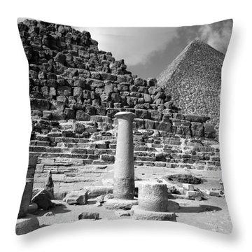 The Single Column Throw Pillow