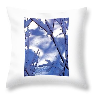 The Single Diamond Throw Pillow by Jennifer Lake