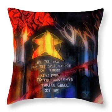 Throw Pillow featuring the photograph The Sisterhood by Mark Dodd