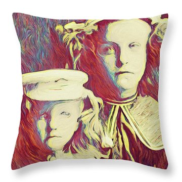 The Sisters Savage Throw Pillow
