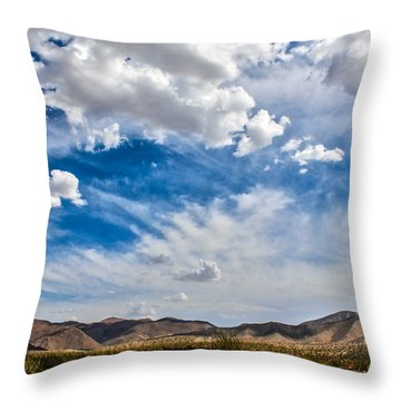 Throw Pillow featuring the photograph The Sky by Break The Silhouette