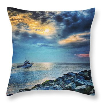 The Skylarker Throw Pillow
