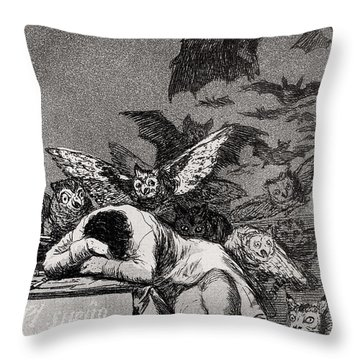 The Sleep Of Reason Produces Monsters Throw Pillow