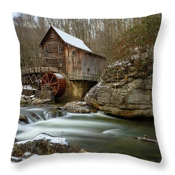 The Splendor Of West Virginia Throw Pillow