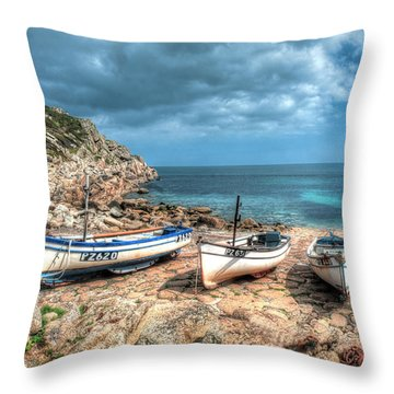 The Slip, Penberth Throw Pillow