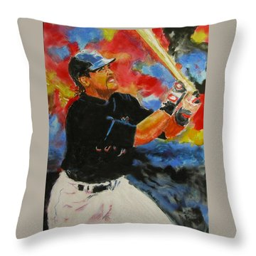 The Slugger Throw Pillow