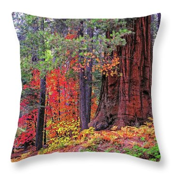 The Small And The Mighty Throw Pillow