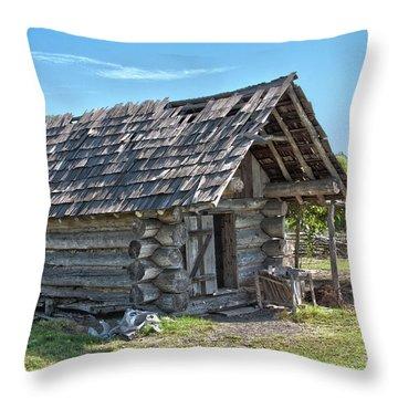 The Smokehouse Throw Pillow