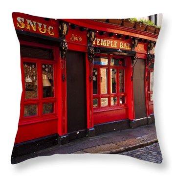 The Snug Throw Pillow by Rae Tucker