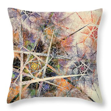 The Softer Side Throw Pillow by Kim Redd
