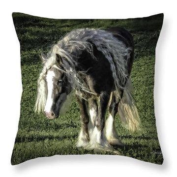 The Softest Mare Throw Pillow