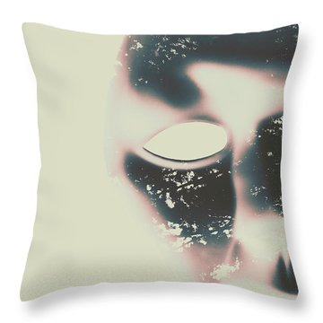 The Solace Of Stillness Throw Pillow