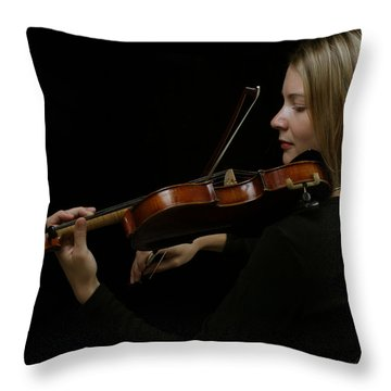 The Soloist  Throw Pillow