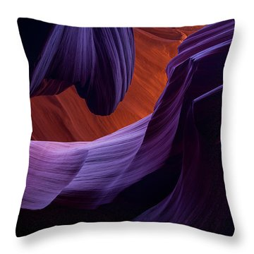 The Song Of Sandstone Throw Pillow