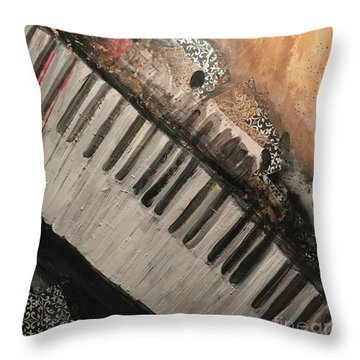 The Song Writer 2 Throw Pillow