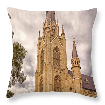 The Soul Of The Campus Throw Pillow