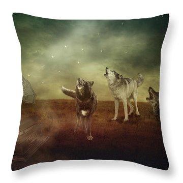 The Sound Of Magic Throw Pillow