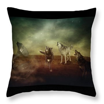 The Sound Of Magic Throw Pillow