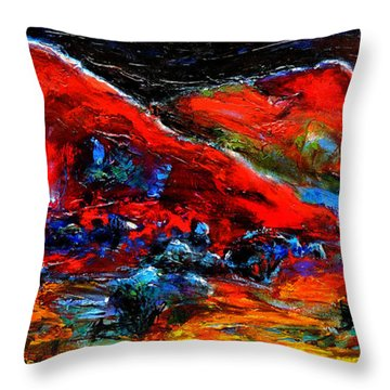 The Sound Of The Night Throw Pillow