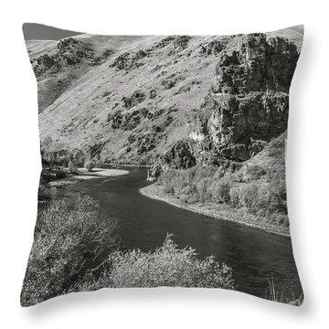 South Fork Boise River 3 Throw Pillow