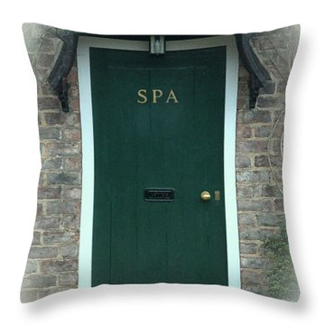 The Spa Treatment Throw Pillow