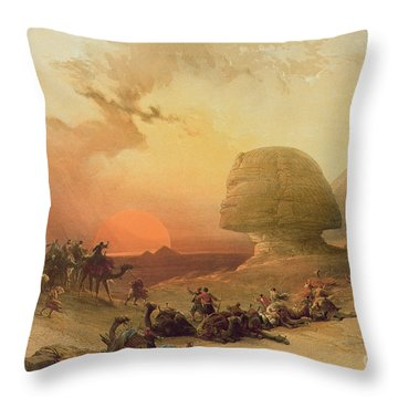 1864 Throw Pillows
