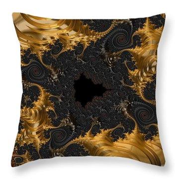 The Spiral Coast Throw Pillow