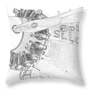 The Spirit Throw Pillow