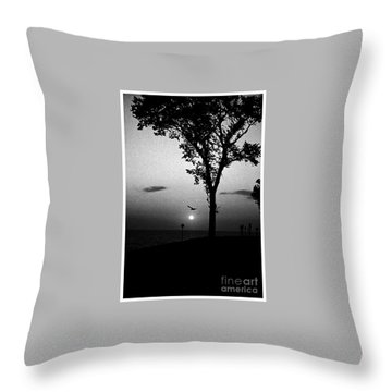 The Spirit Of Life Throw Pillow