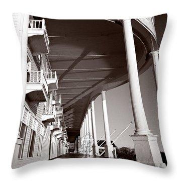 The Spirit Of Mackinac Throw Pillow