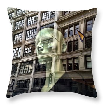The Spirit Of San Francisco Throw Pillow