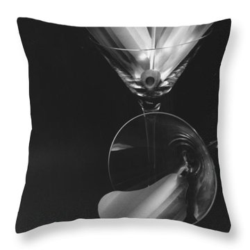 The Splash And The Spill Throw Pillow