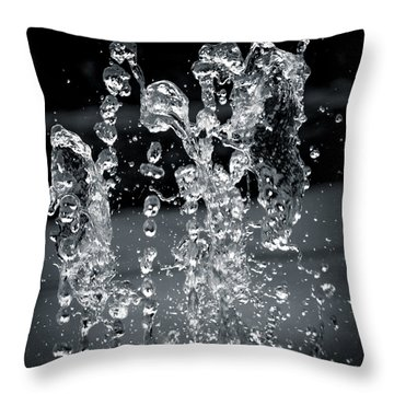 The Splash Throw Pillow