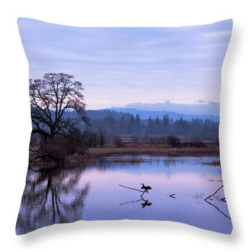 The Spread Throw Pillow