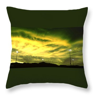 The Stadium Throw Pillow