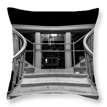 The Stairwell Throw Pillow