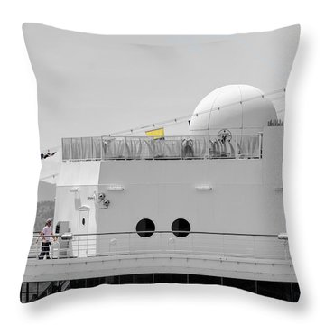 The Star Deck Throw Pillow