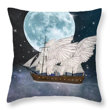 The Star Harvesters Throw Pillow