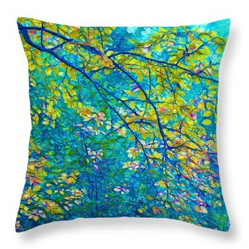 The Star Of The Forest - 773 Throw Pillow